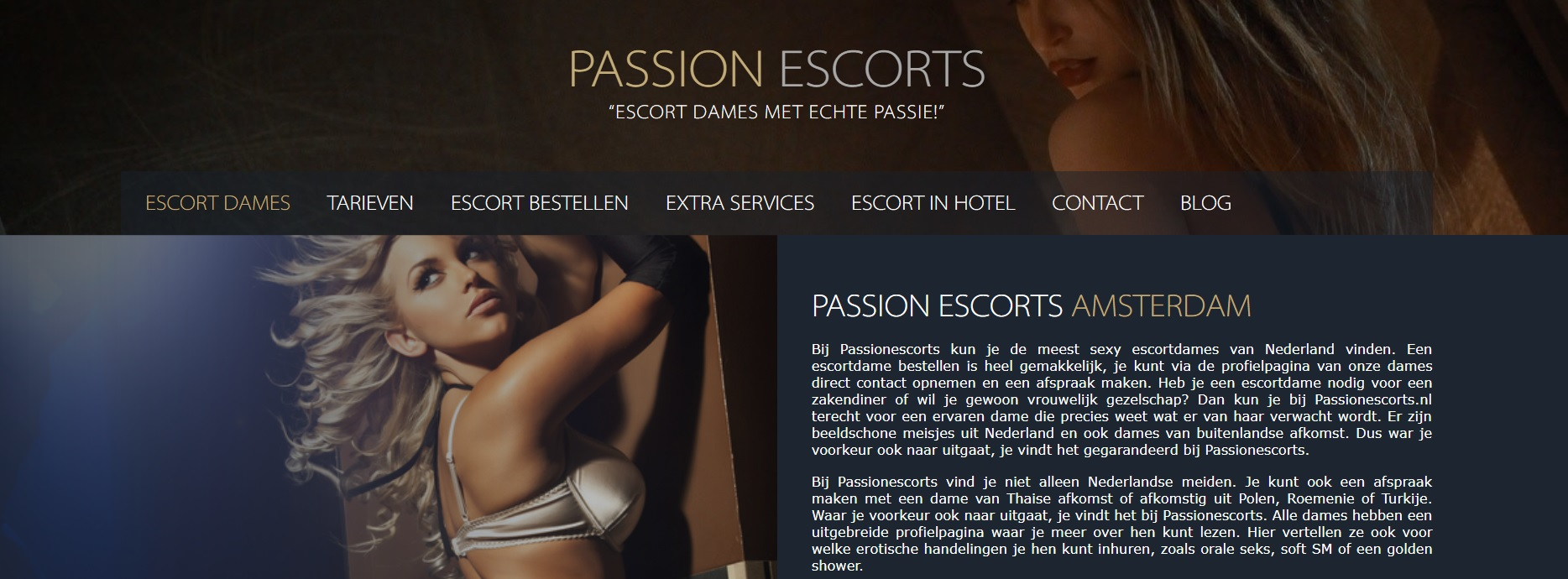 Passion Escorts Amsterdam