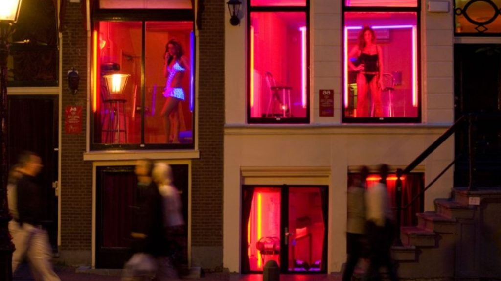 When to visit Prostitution in Red Light District
